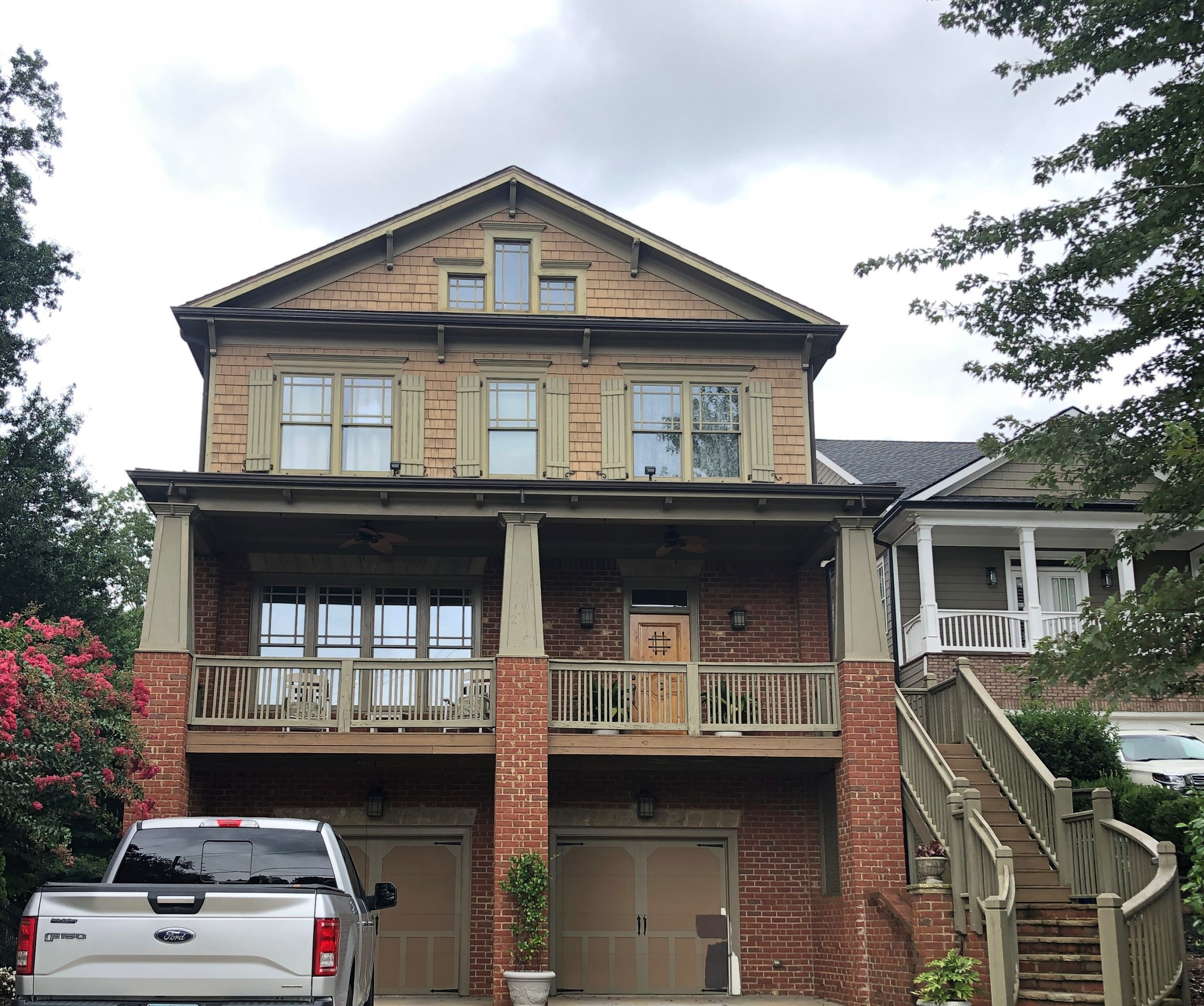 exterior paint job in Alpharetta Georgia