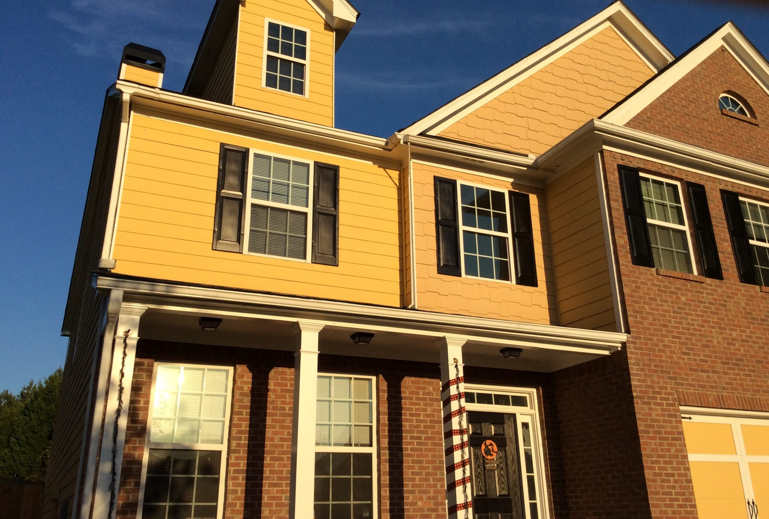 Yellow Exterior Painting Smyrna