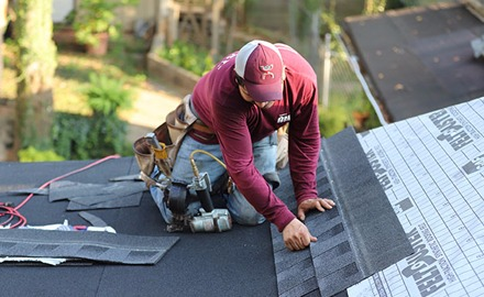 shingle roof replacement professional