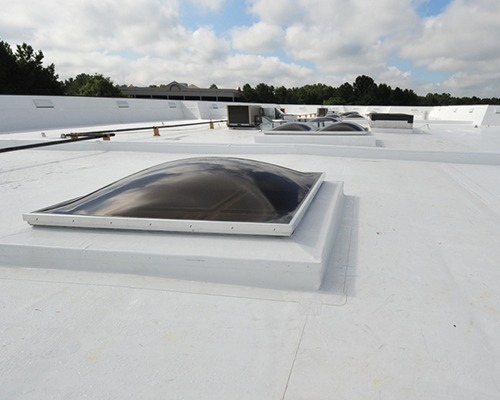 Flat commercial roofing contractor