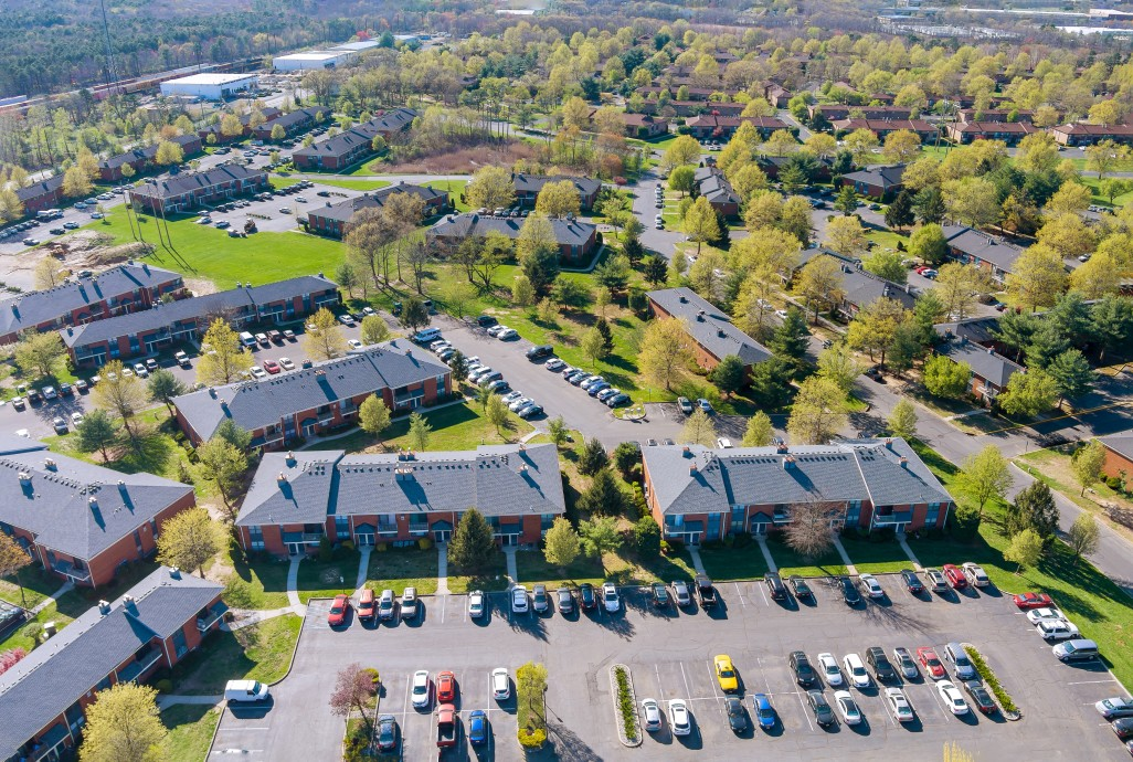 commercial roofing multifamily complex
